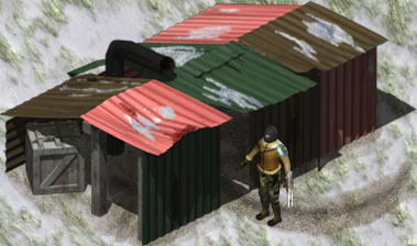 Hut 3d model by Shrew81